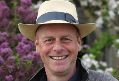 Gardeners world presenter Joe Swift