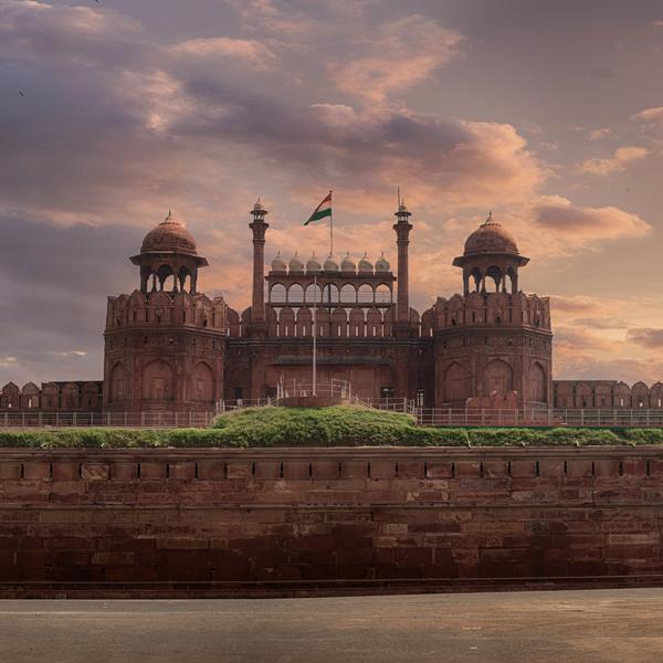 Delhi Fortress, India
