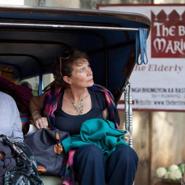 Judy Dench and Celia Imrie in the Best Exotic Marigold Hotel film