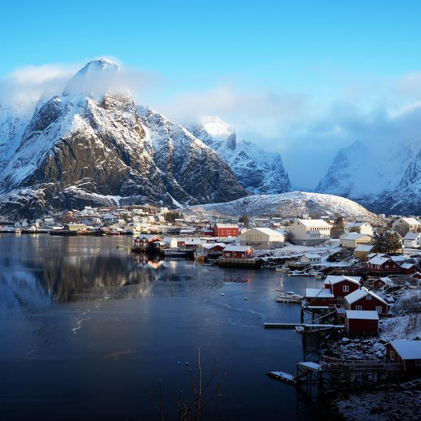 The Lofoten Islands in Norway