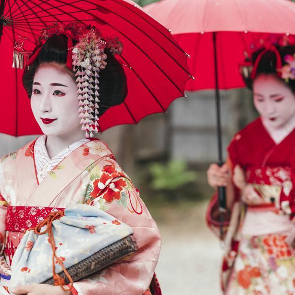 Maiko Geisha in Japan