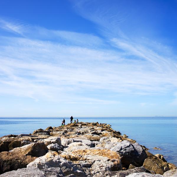 A rocky outcrop, Costa del Sol