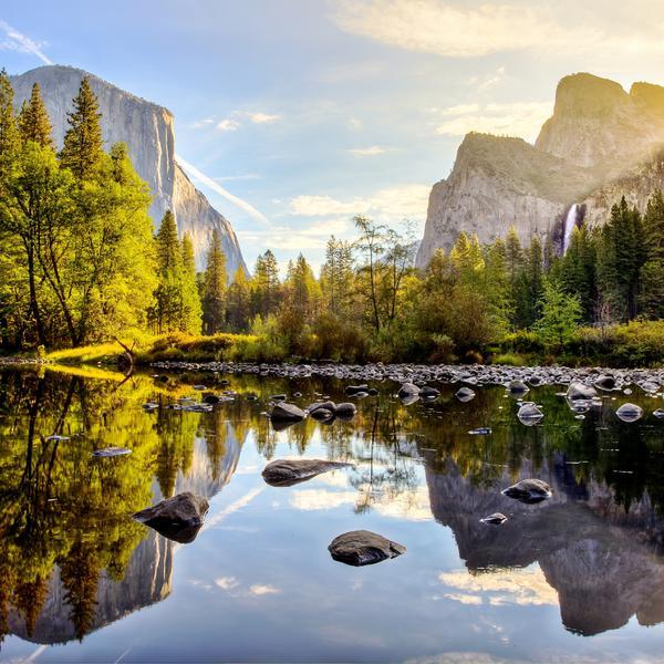 Sunrise in Yosemite National Park