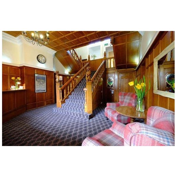 St Marys Hall Hotel staircase
