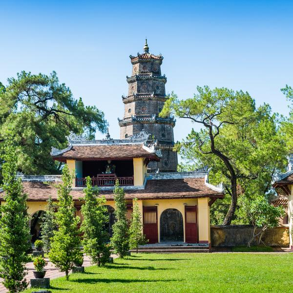 Thien Mu Temple and Pagoda Hue
