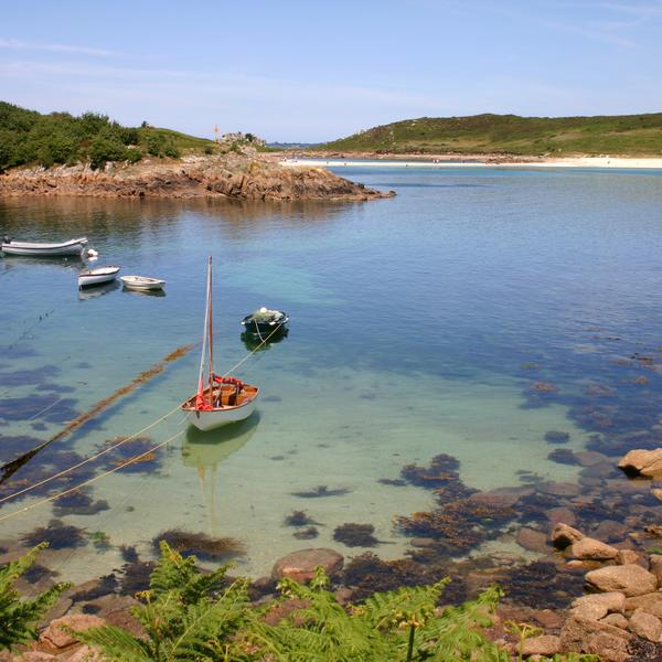 Scilly Isles boat
