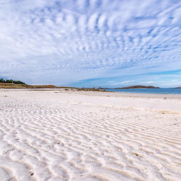 sand beach Scilly Isles