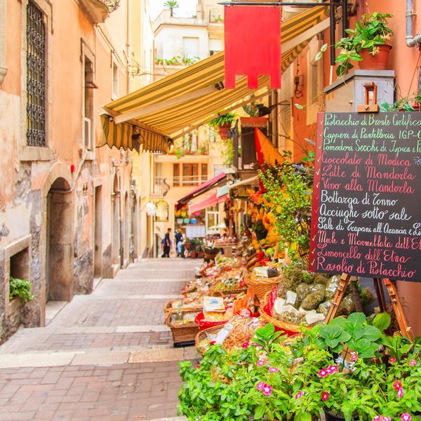 Local shop in Taormina