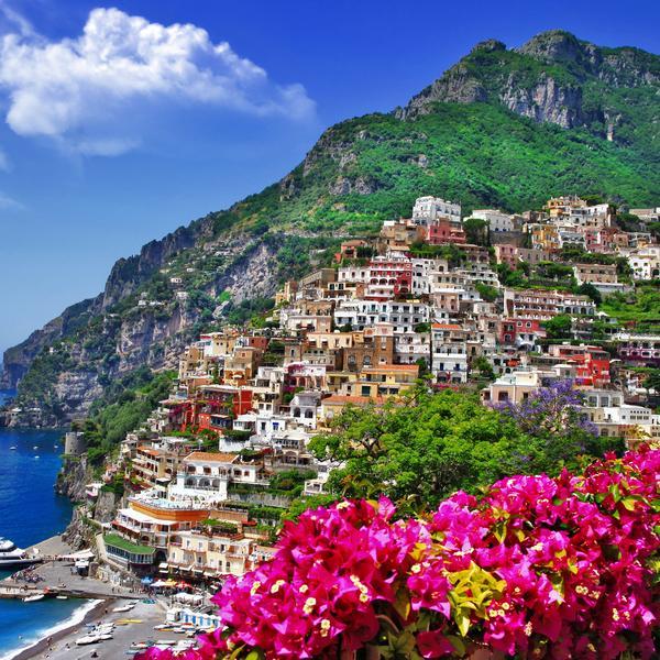 Positano on the Amalfi Coast, Italy