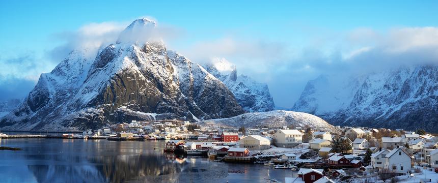 Lofoten Islands in Norwary