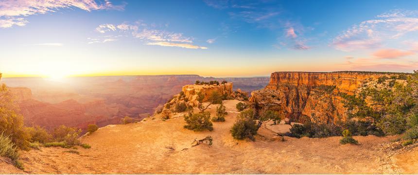 Panorama of the Grand Canyon, USA