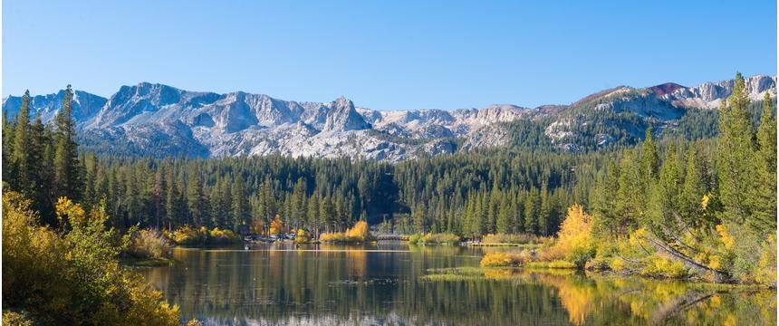 Mammoth Lakes in California, USA